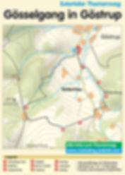 Dorfgemeinschaft Göstrup Gösselgang-Karte