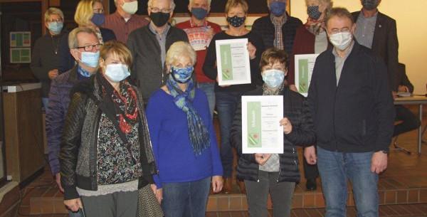 Pressefoto mit den Preisträgern