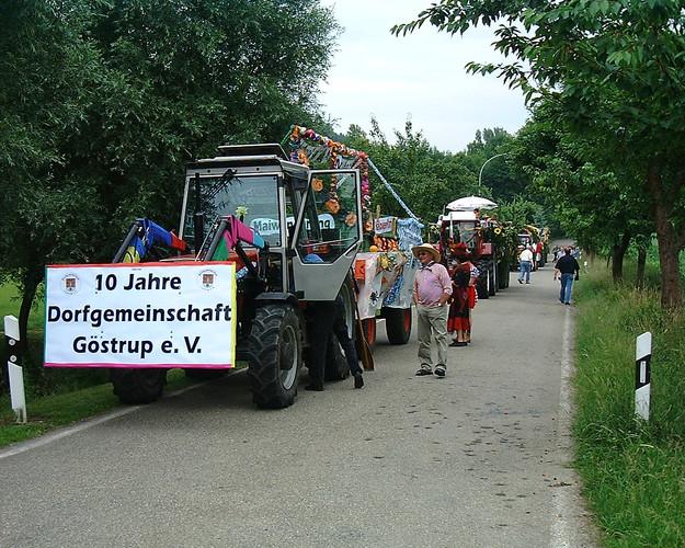 10jähriges Vereinsjubiläum 2003