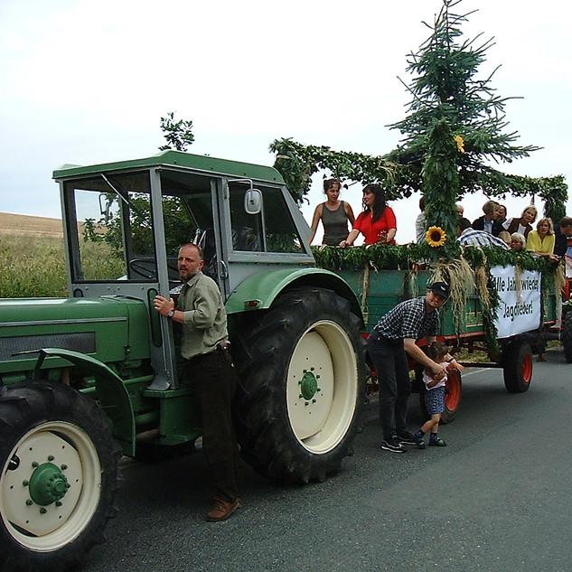 Dorffest 2003 Jäger-Wagen