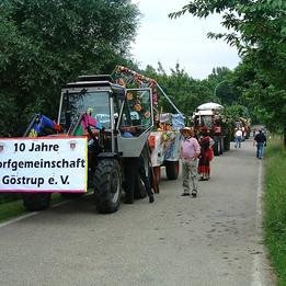 Dorffest 2003 Treffpunkt Teich