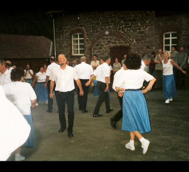 Dorffest 2003 Fest auf dem Hof