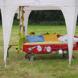 Betten der Teilnehmer