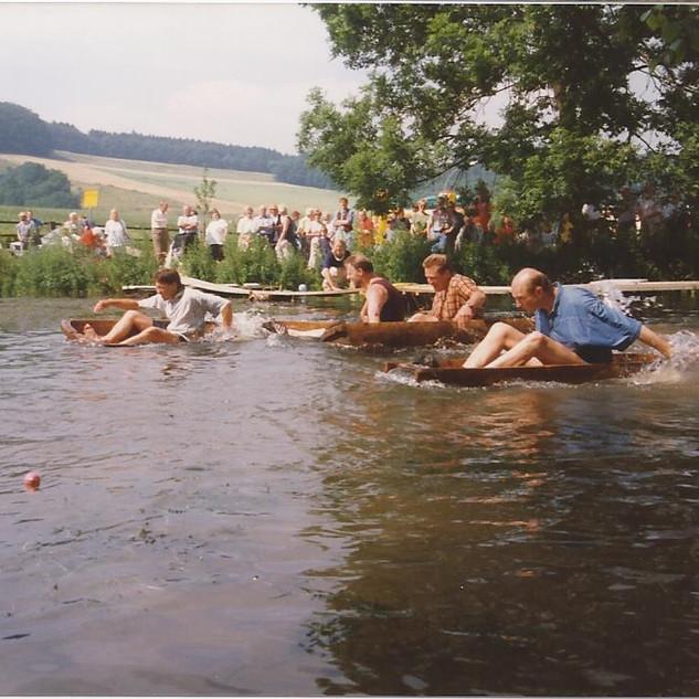 Dorfgemeinschaft Göstrup Teicheinweihung 97