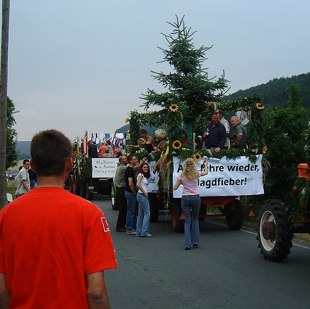 Dorfumzug 2003 Malmershaupt