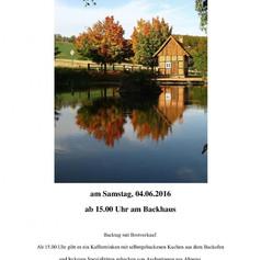 Frühjahrsbacktag 2016