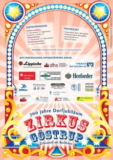 700 Jahr Feier in Göstrup -Flyer 2