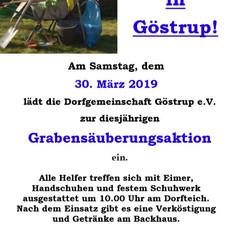Dorfgemeinschaft_Göstrup_Grabenentrümpelung