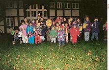 Dorfgemeinschaft Göstrup Laternenumzug