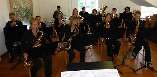 Dorfgemeinschaft Göstrup Kulturnacht  BigBand der Musikschule Extertal