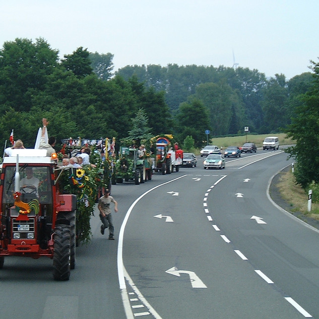 Dorffest 2003 Verkehrssicherung