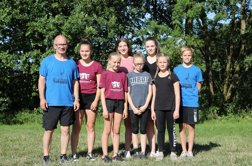 Die Trampolin Kids des TSV Bösingfeld