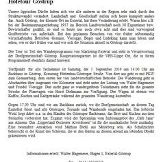 Informationen zur Höfetour