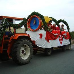 Dorffest 2003 Der Rückweg wird fortgesetzt.