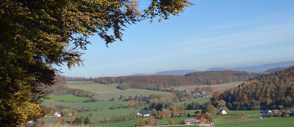 Panoramablick auf Göstrup