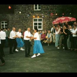 Dorffest 2003 Noch eine Vorführung