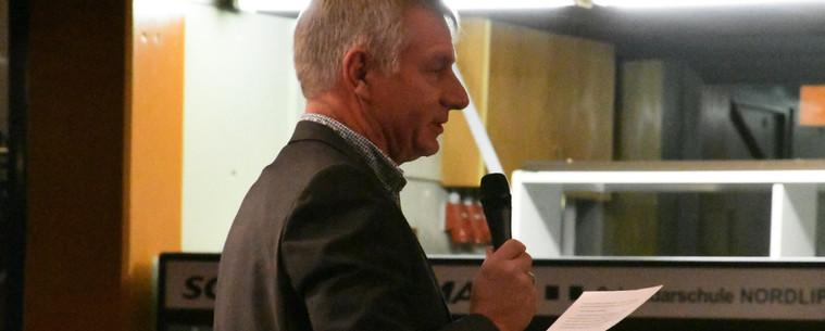 Laudatio des Bürgermeisters für unseren Dorfverein