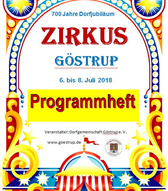 Deckblatt Programmheft
