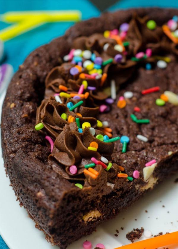 fudge brownie cookie cake
