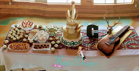 Aztec wedding theme