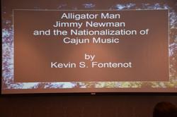 24 Alligator Man Jimmy C. Newman Title Slide