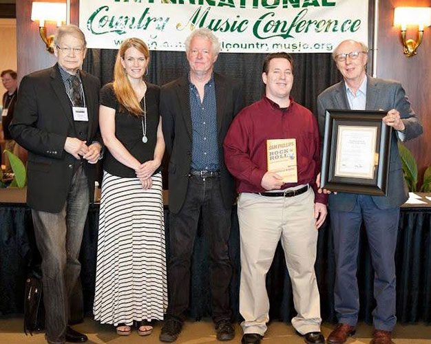 2016-ICMC-Honorees.-L2r-James-Akenson,-Rolling-Stone-Nashville-Editor-Beville-Dunkerly,-Pete-Finney-