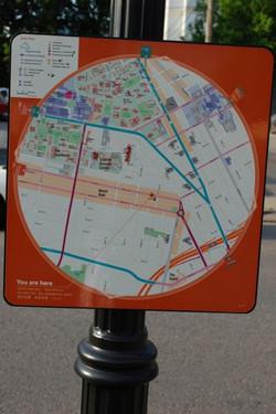 Music Row Map Near Studio B