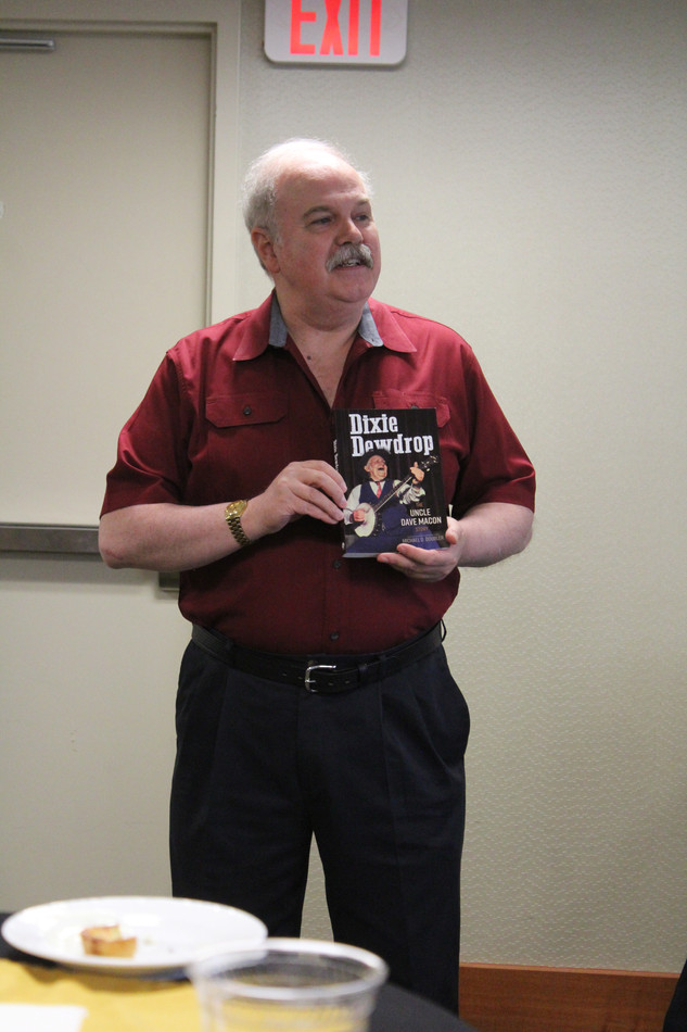 Mike Doubler book launch