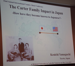 11 Kenichi Yamaguchi on The Carter Family In Japan