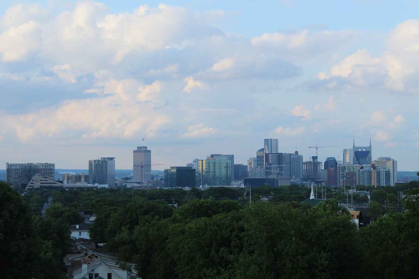 Nashville Skyline 2019 from Belmont