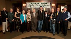 ICMC 2011. L to R. James Akenson, Ralph Emery, Bar Biszick-Lockwood, Peggy Walker, Frances Preston,