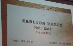 55 Jordan Haney Carlton Haney Slide
