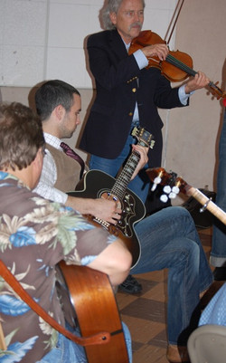 31-Roby Cogswell, Matthew Goldman, and Joe Weed Picking In Studio B