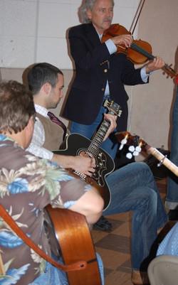 31-Roby Cogswell, Matthew Goldman, and Joe Weed Picking In Studio B