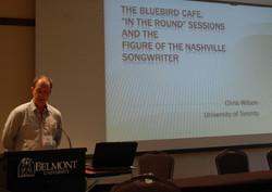 Chris Wilson on Bluebird Cafe