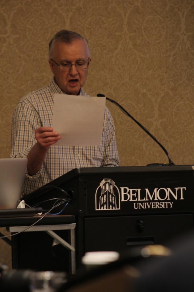 Wolfe Panel: Fred Bartenstein
