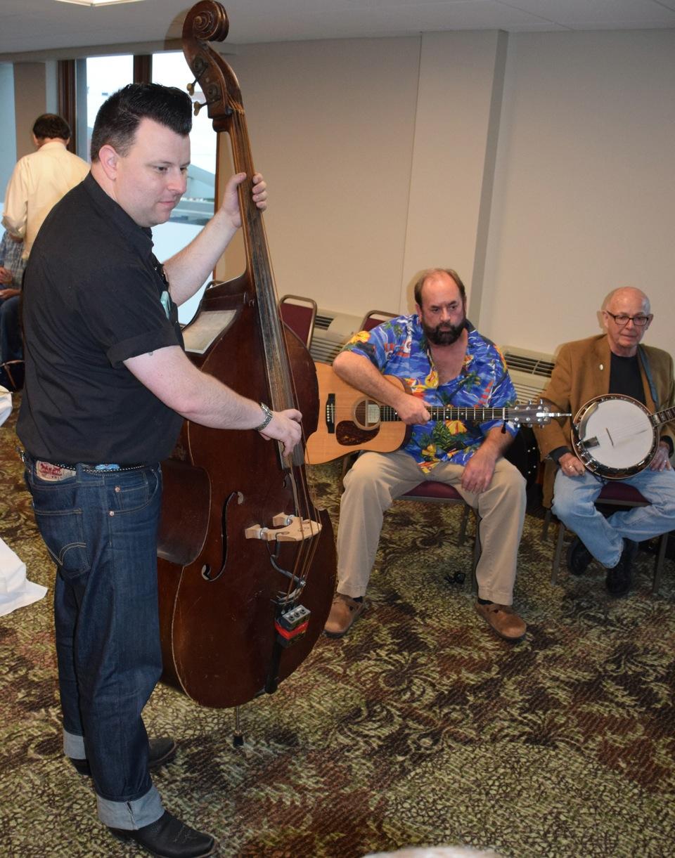 16 L2R Nate Gibson, Jim Clark, Neil Rosenberg
