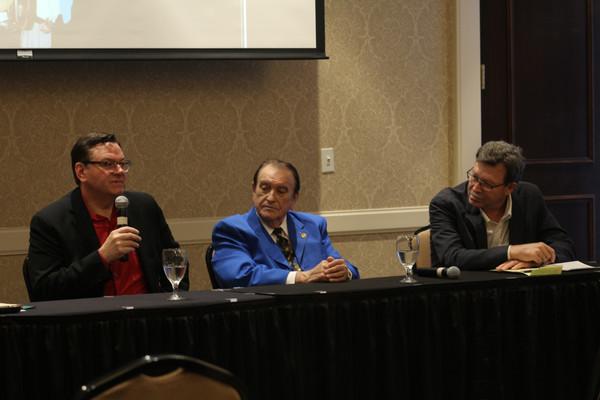 Wolfe Panel: Joe Mullins, Bobby Osborne, Dan Hays