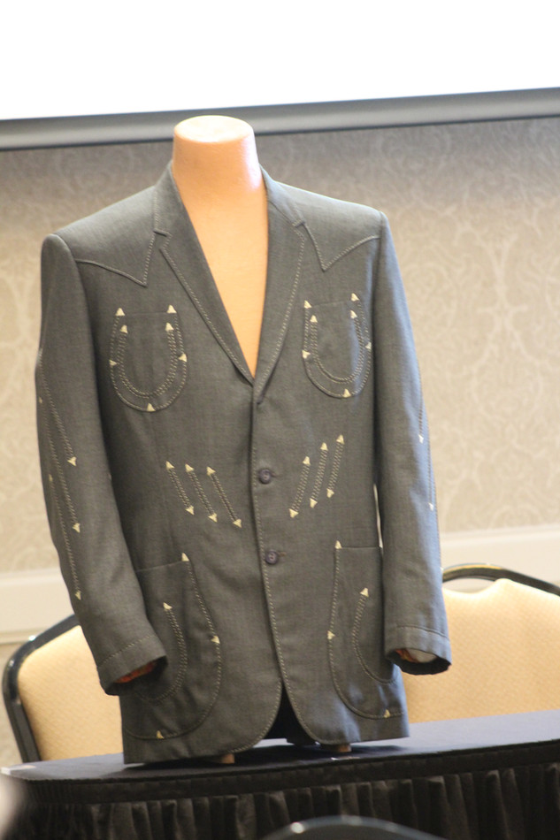 Carl Perkins' suit