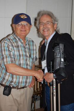 Charlie Coy and Joe Weed. Studio B ICMC 2012