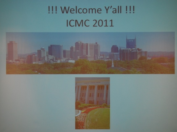 32-Welcome 2011 ICMC
