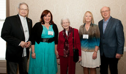 18 ICMC L-R James Akenson, Caroline Gnagy, Ruth Poe, Diane Diekman (Belmont Country Music Book of th
