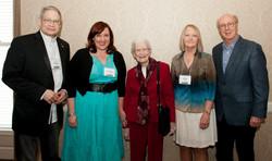 18 ICMC L-R James Akenson, Caroline Gnagy, Ruth Poe, Diane Diekman (Belmont Country Music Book of th