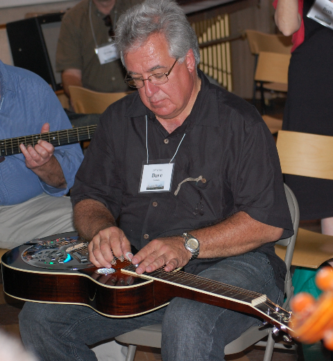 Dave Sichak Picks at Studio B ICMC 2012