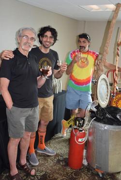 44 L2R Barry Stevens, Dave Sergio, Don Sergio (Calfkiller Brewing)