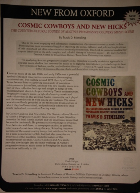 35-Travis Stimeling's Cosmic Cowboys Book Publicity
