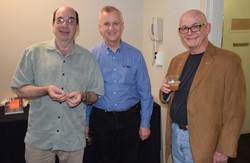 43 L2R Barray Mazor, Fred Bartenstein, Neil Rosenberg