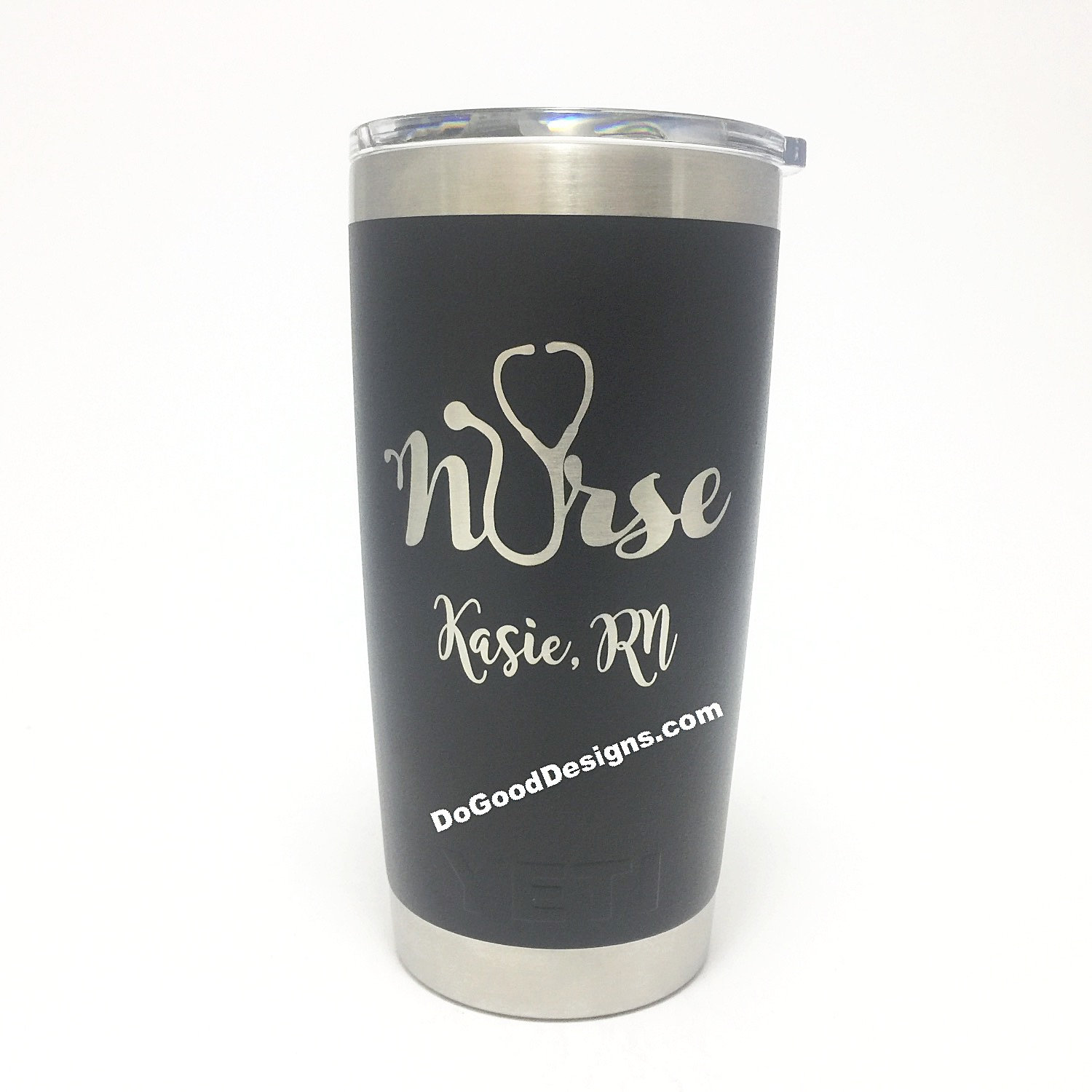 Yeti Nurse Stethoscope Engraved W Custom Name Yeti Rambler
