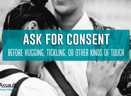 #IAsk, Do You? Sexual Assault Awareness Month