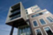 Walburgstaete Zupthen nieuwbouw kantoor Van der Linde Architecten